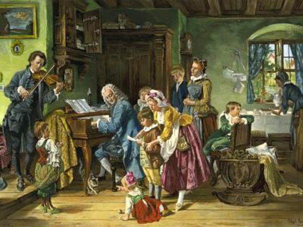 Peintre : Toby Edward Rosenthal (1848-1917) Bach-w10