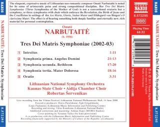 Onuté Narbutaité, née en 1956 Back15