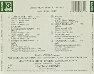 Claudio Monteverdi (1567-1643) Back17