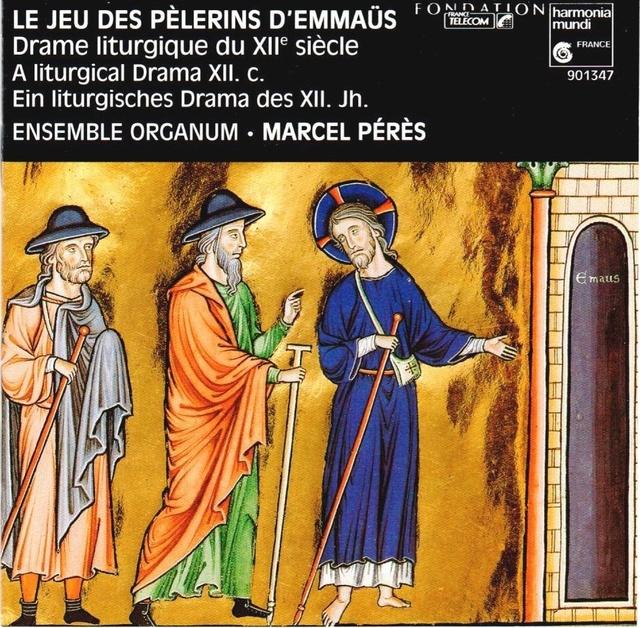Le Jeu des Pèlerins d'Emmaus (auteur anonyme 12ème siècle) Scan0012