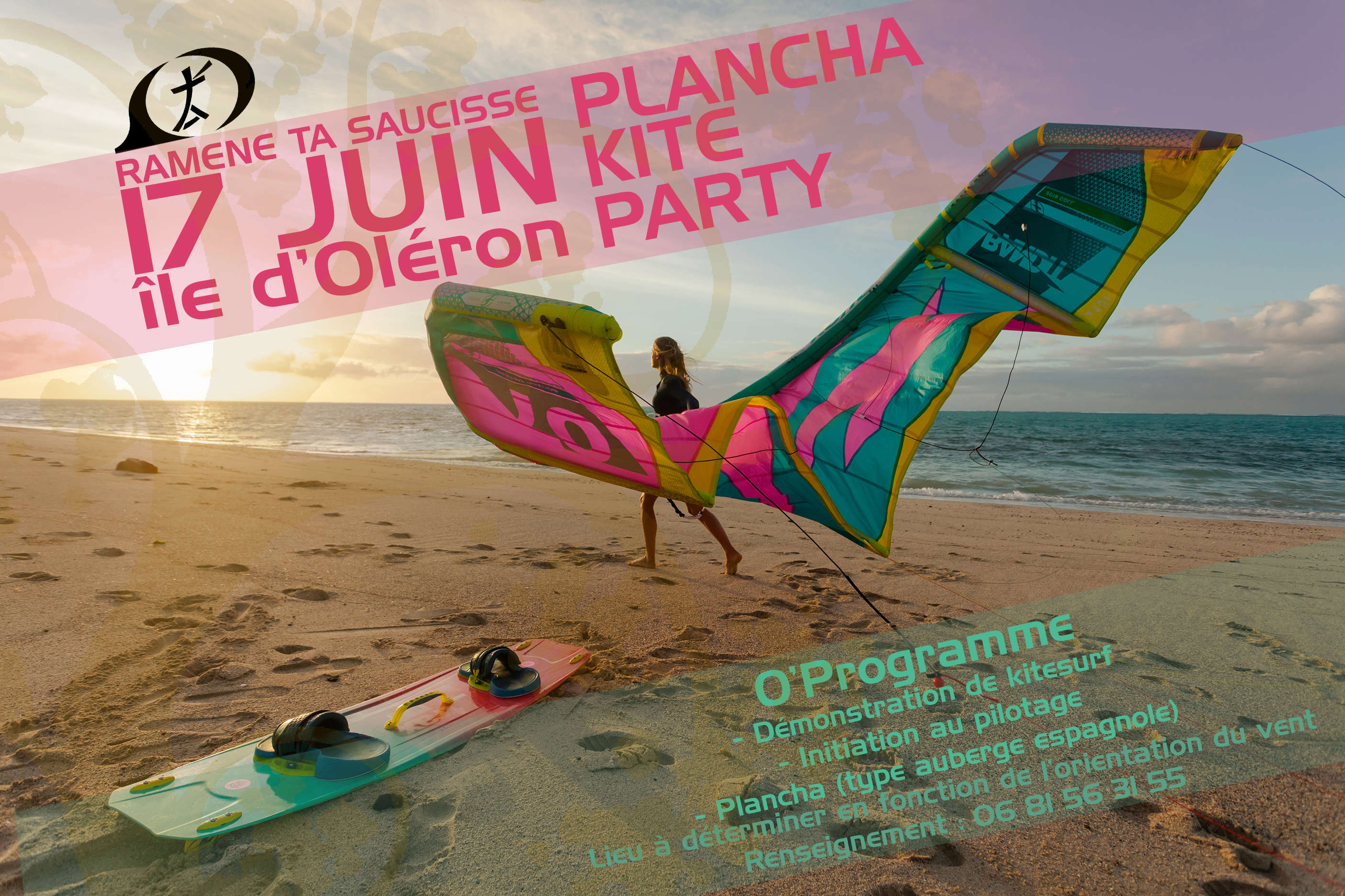 Plancha Kite Party 2018 Affich10