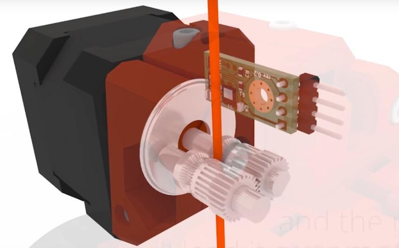 Compteur de longueur de fil imprimante 3D Mesure11