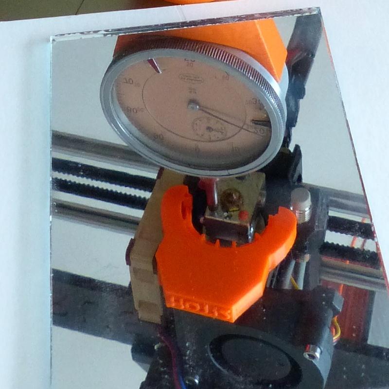 Controle et réglage du Bed de votre imprimante 3D Suppor19