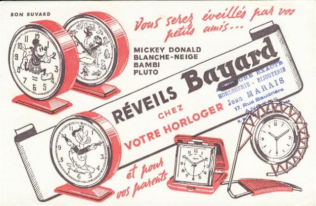 Réveil Bayard Tapageur / Première tentative de rénovation... Buvard10