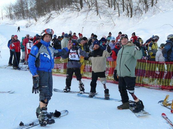 Le PROCARVE, prothèse de snowboard, à l'honneur en Italie N1502210