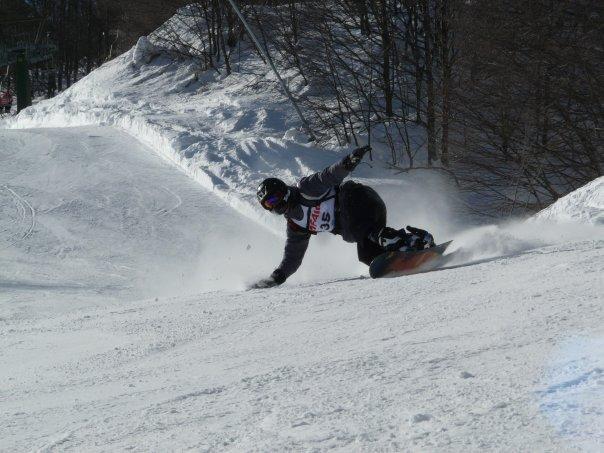 Le PROCARVE, prothèse de snowboard, à l'honneur en Italie N1502211