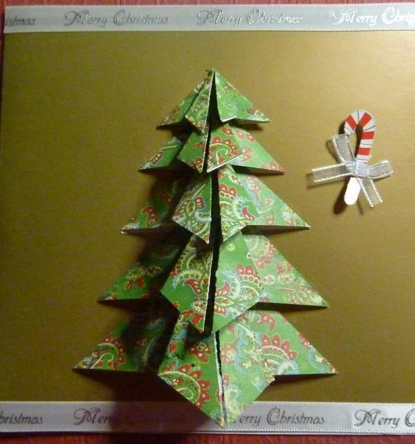 n°9 - carte sapin en origami 12_car10