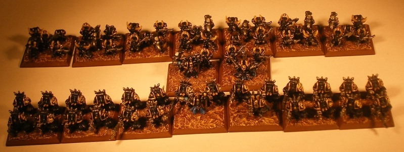 Le Duc - Black Legion 3000 points Phase110