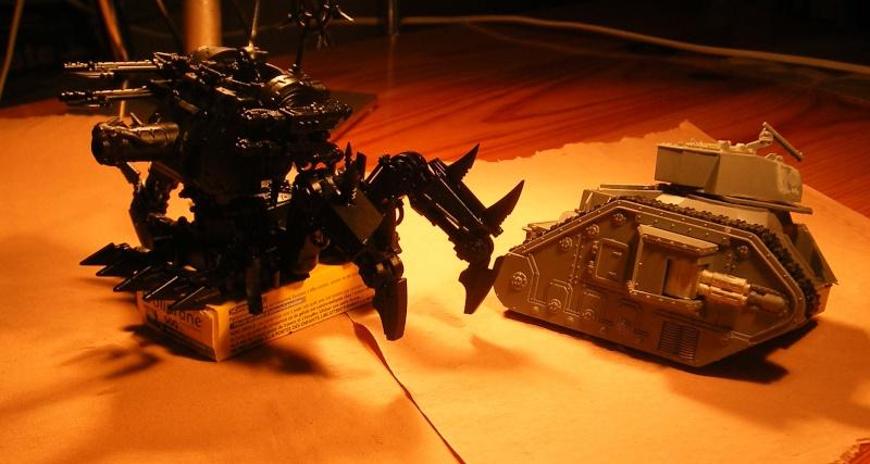 scratchbuild defiler W40k10