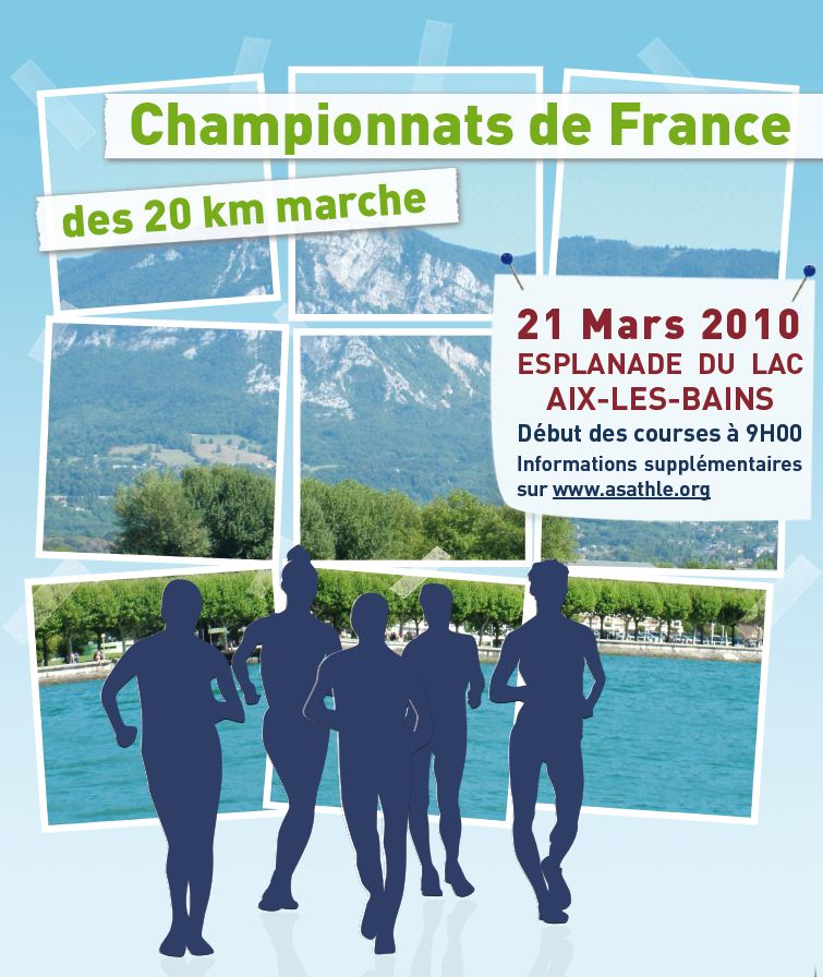 21 mars Championnat de France 20 km marche Get-at10