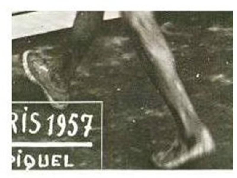 1957 SRASBOURG-PARIS Pied_410