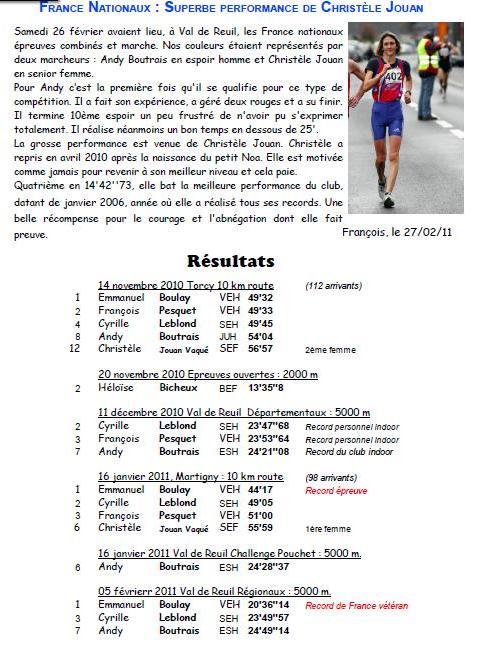 le journal de l'ASPTT ROUEN et F PESQUET Rouen_25