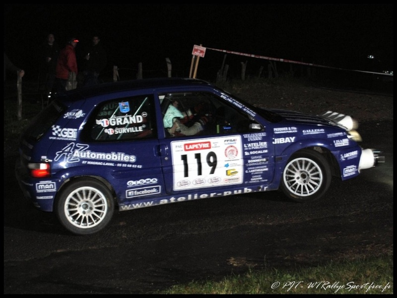 Laurent SURVILLE / Alexandra GRAND - CITROEN Saxo A6 Wtrs-f34