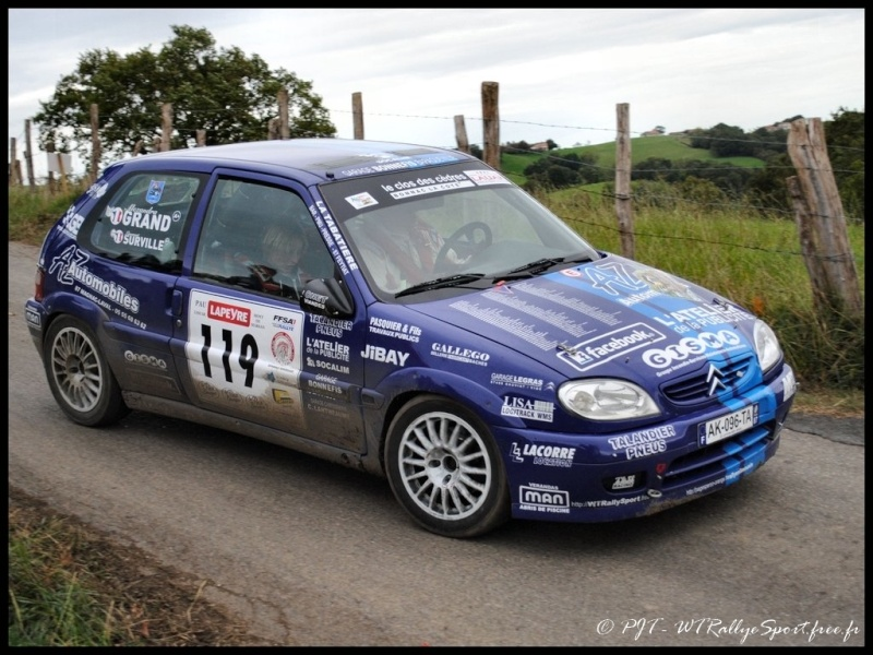 Laurent SURVILLE / Alexandra GRAND - CITROEN Saxo A6 Wtrs-f35