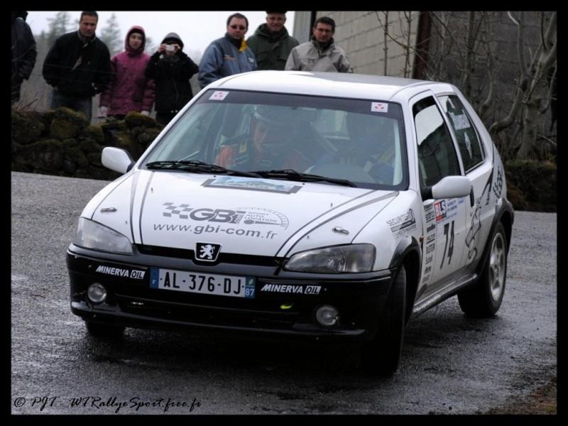 Yann JOUANDEAUD / Magali REJAUD - PEUGEOT 106 S16 N2 - Team GBI.com Wtrs-p72