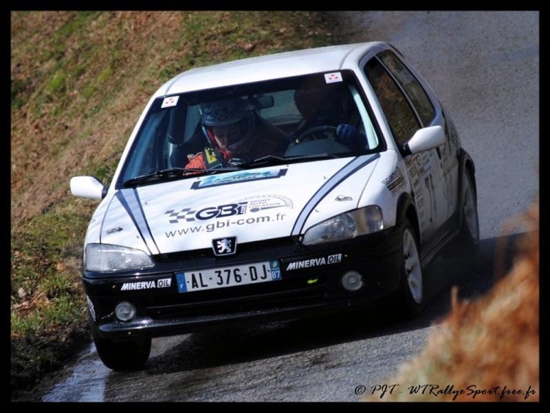Yann JOUANDEAUD / Magali REJAUD - PEUGEOT 106 S16 N2 - Team GBI.com Wtrs-p74