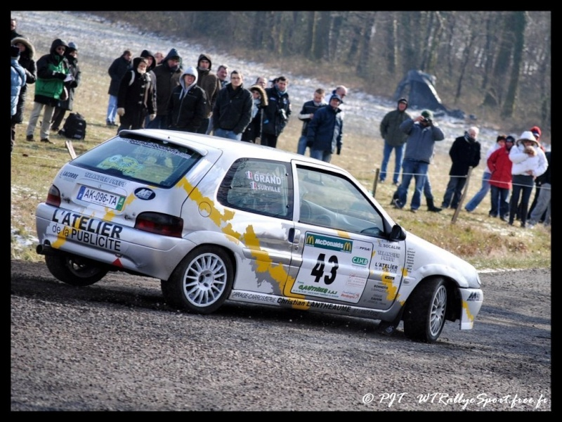 Laurent SURVILLE / Alexandra GRAND - CITROEN Saxo A6 Wtrs-r27