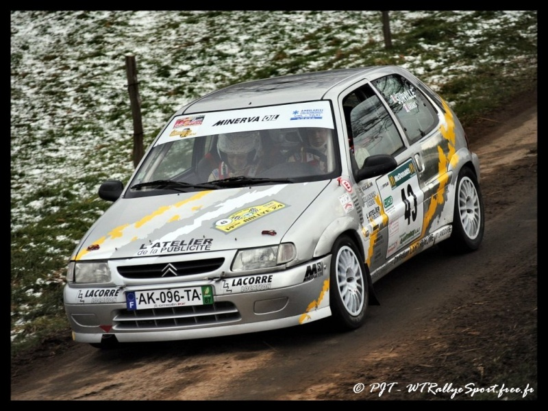 Laurent SURVILLE / Alexandra GRAND - CITROEN Saxo A6 Wtrs-r28