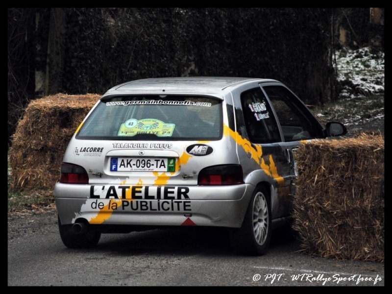 Laurent SURVILLE / Alexandra GRAND - CITROEN Saxo A6 Wtrs-r29