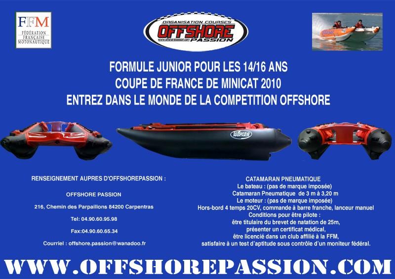 FORMULE JUNIOR RACE NAUTIC TOUR 2010 Minica10