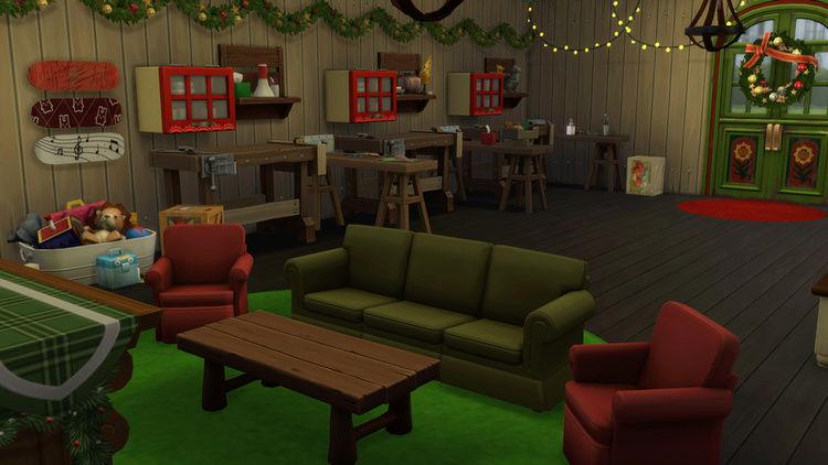 L'usine du Père Noël [Clos]  517