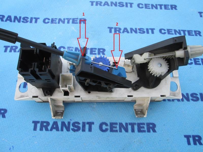 Panne chauffage sur Ford Transit (répartiteur ventilation) Comman11