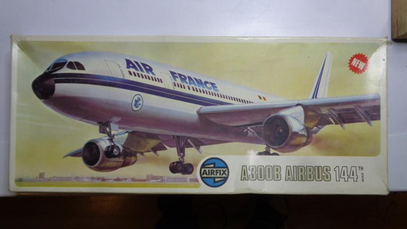 Airbus A 300 B 2 1/144 AIRIX  Dsc03068