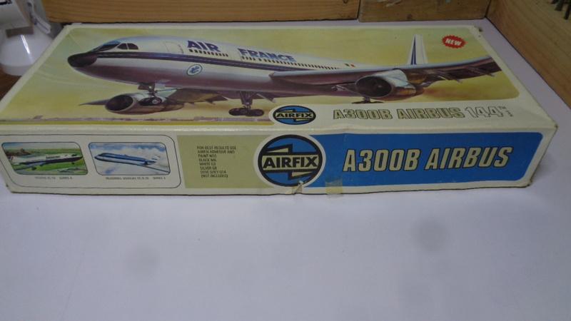 Airbus A 300 B 2 1/144 AIRIX  Dsc03069