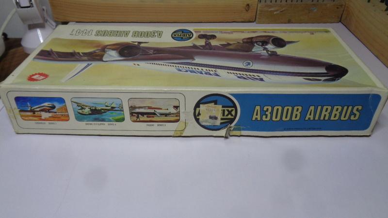 Airbus A 300 B 2 1/144 AIRIX  Dsc03070