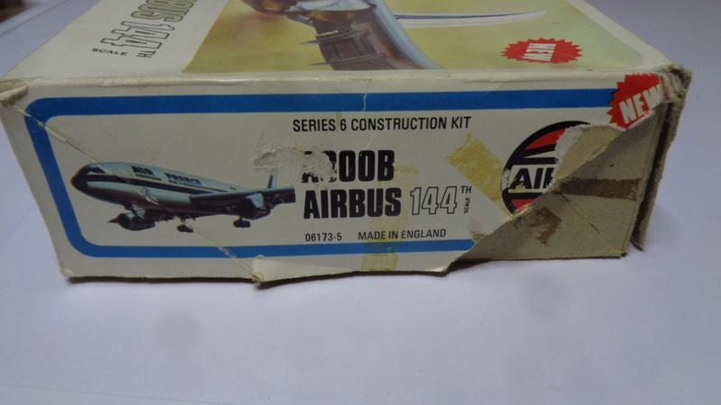 Airbus A 300 B 2 1/144 AIRIX  Dsc03072