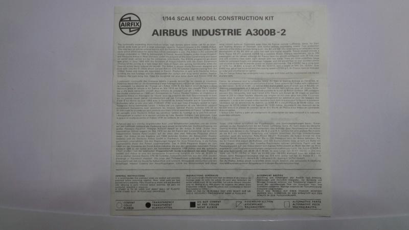 Airbus A 300 B 2 1/144 AIRIX  Dsc03076