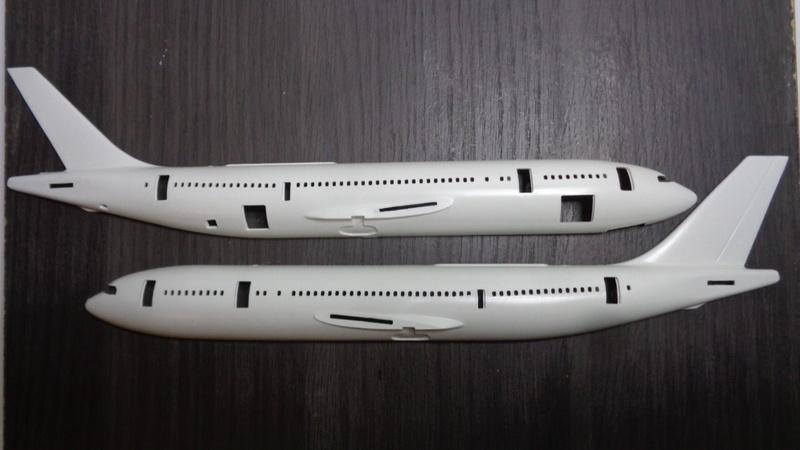 Airbus A 300 B 2 1/144 AIRIX  Dsc03080