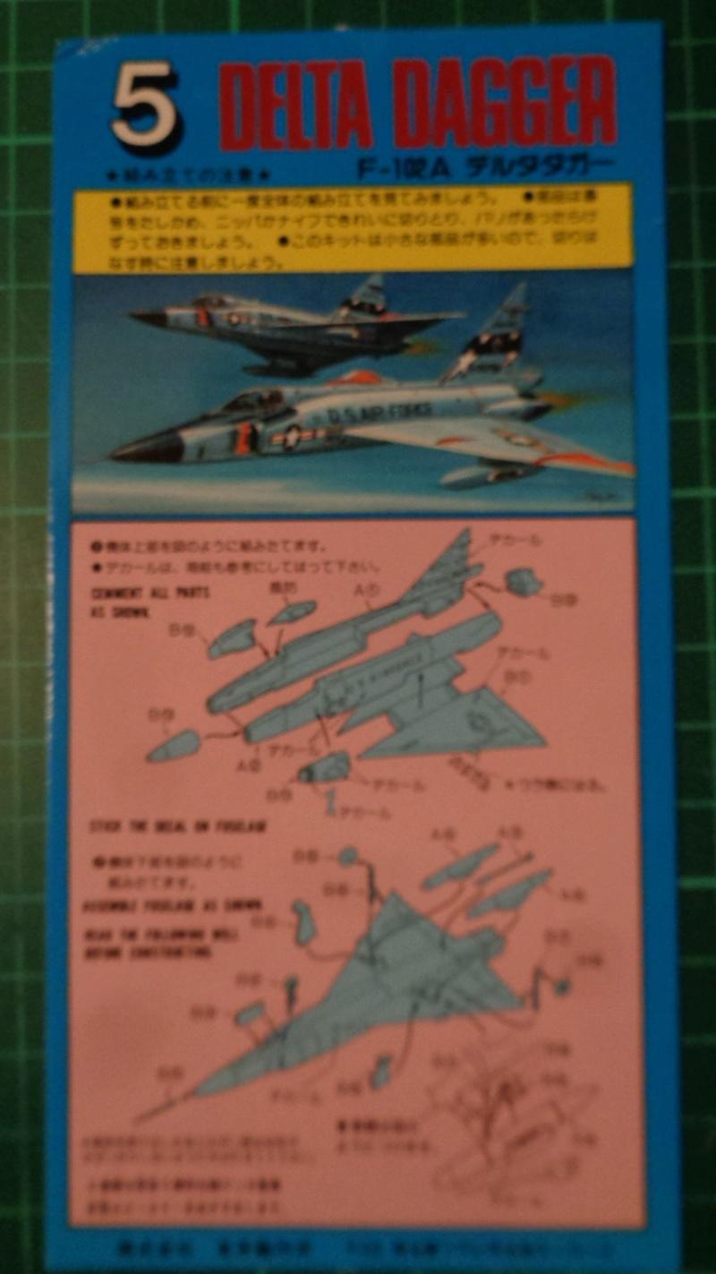 """CONVAIR F 102 A """"DELTA DAGGER"""" 1/144 ARII et Otaki 1/144 Dsc03134"""