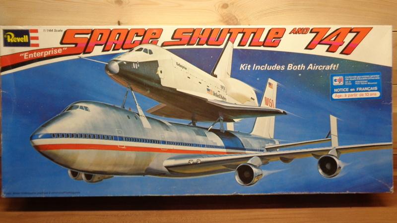 [REVELL] BOEING 747 & Navette SPATIAL 1/144ème  Réf H-177 Dsc03429