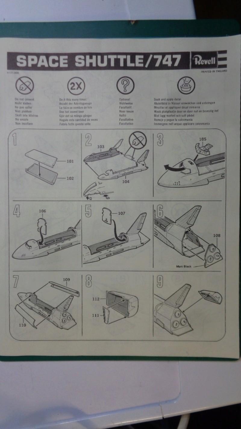 [REVELL] BOEING 747 & Navette SPATIAL 1/144ème  Réf H-177 Dsc03430