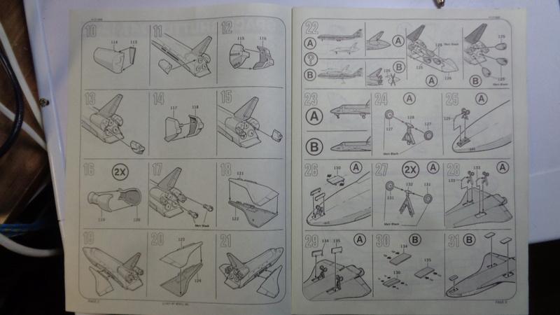 [REVELL] BOEING 747 & Navette SPATIAL 1/144ème  Réf H-177 Dsc03510