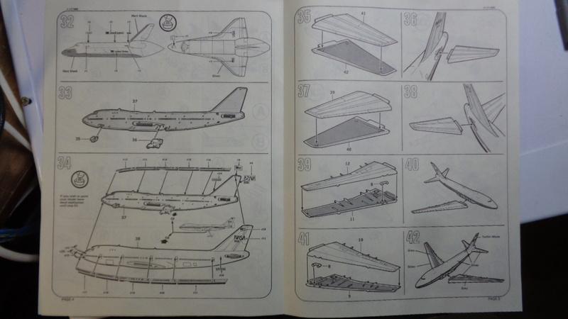 [REVELL] BOEING 747 & Navette SPATIAL 1/144ème  Réf H-177 Dsc03511