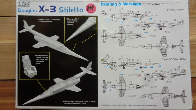 DOUGLAS X3  Stiletto Dragon 1/144 Dsc03723