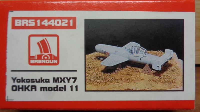"Yokosuka MXY7 "" OHAKA"" Model 11 Brengun 1/144 Dsc03910"