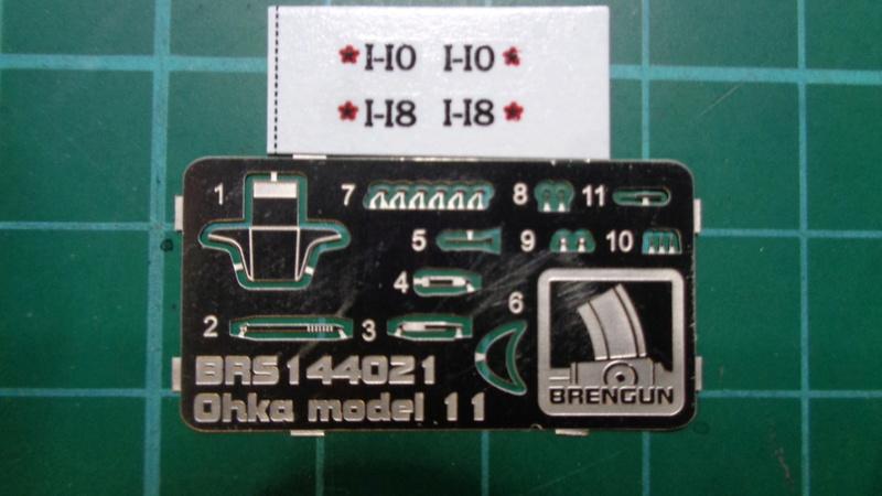 "Yokosuka MXY7 "" OHAKA"" Model 11 Brengun 1/144 Dsc03912"
