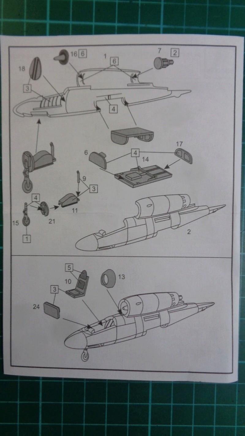 [BRENGUN] HEINKEL He 162 D SALAMANDER 1/144ème Réf BRP144005 Dsc03933