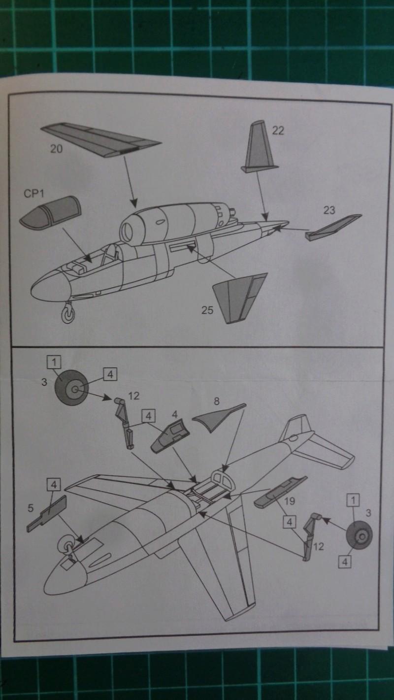 [BRENGUN] HEINKEL He 162 D SALAMANDER 1/144ème Réf BRP144005 Dsc03934
