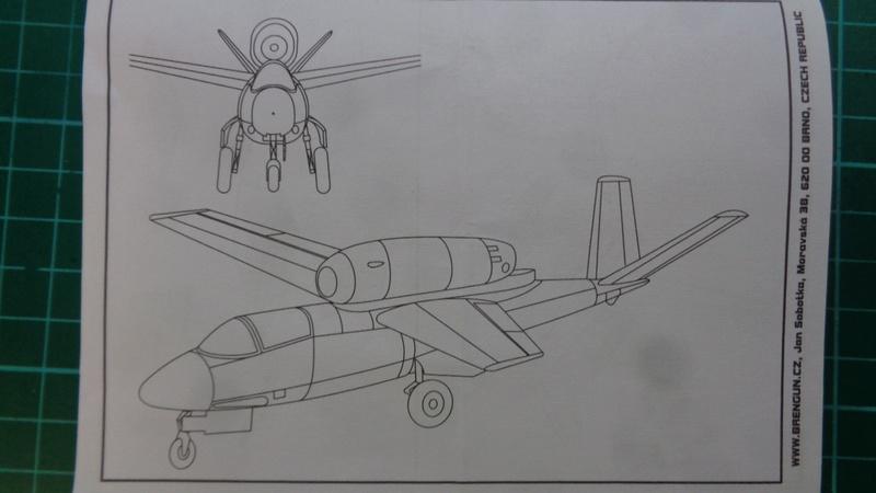 [BRENGUN] HEINKEL He 162 D SALAMANDER 1/144ème Réf BRP144005 Dsc03935