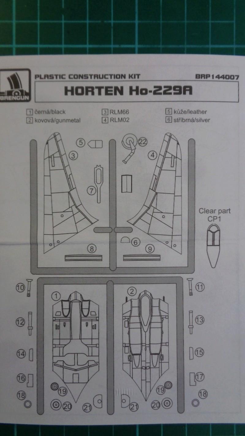 HORTEN HO 229 A Bregun 1/144 Dsc03944