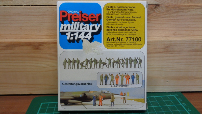 [PREISER] Equipage et personnels au sol LUFTWAFFE OTAN Réf 77100 1/144ème Dsc03954
