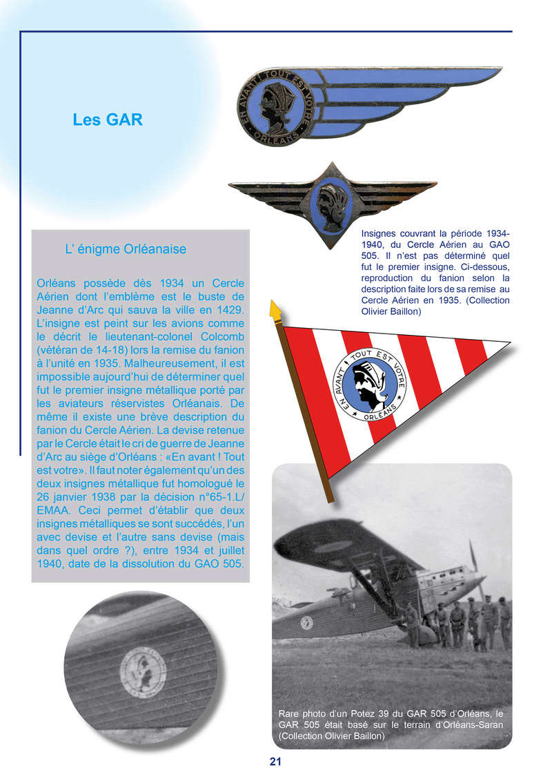 L'aviation de réserve CAR-GAR-GAO : histoire et insignes L_avia33