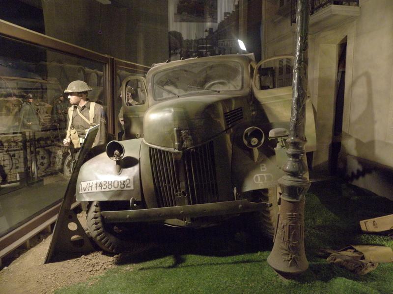 musée OVERLORD MUSEUM de COLLEVILLE P7120142