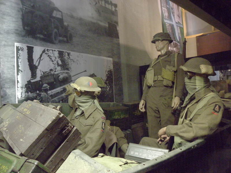 musée OVERLORD MUSEUM de COLLEVILLE P7120148