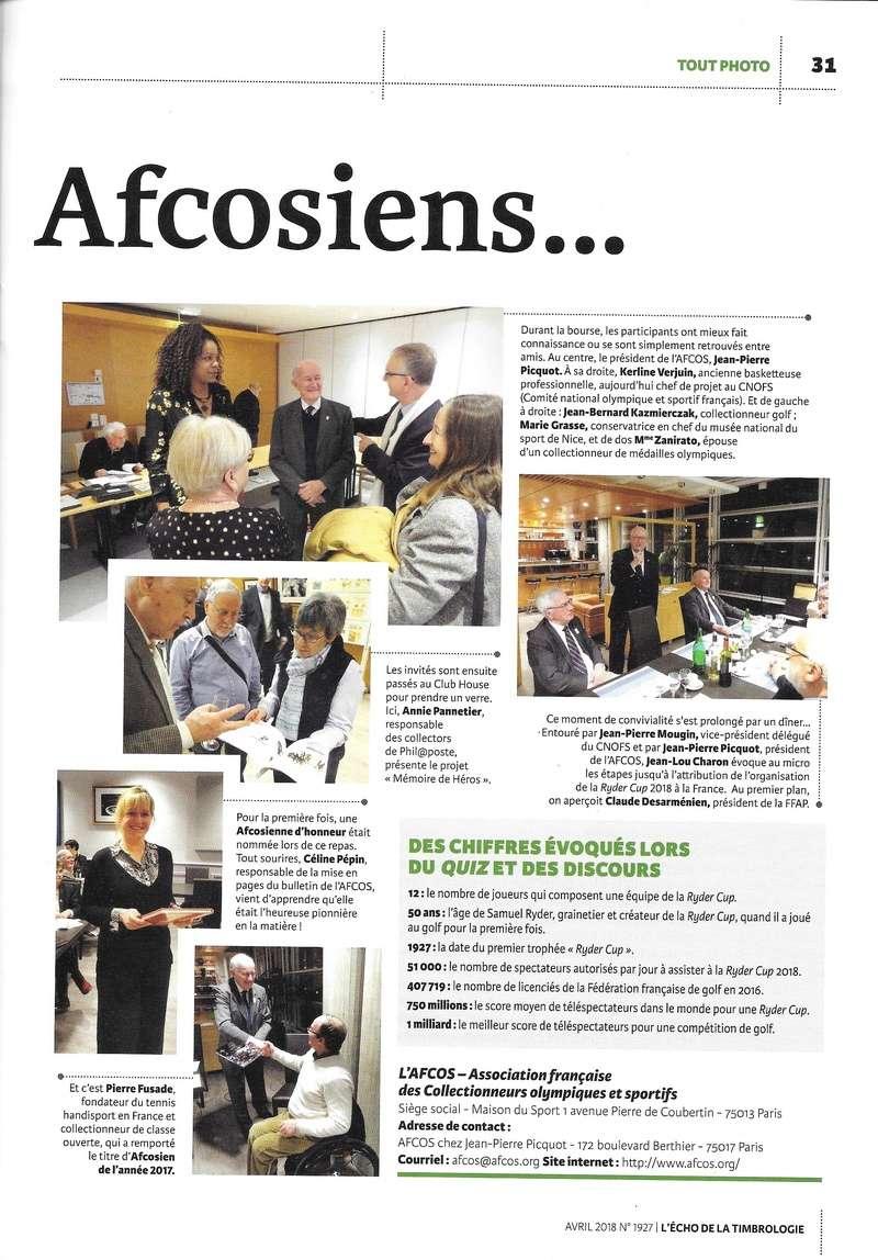 L'AG de l'AFCOS 2018 dans la presse L_echo11