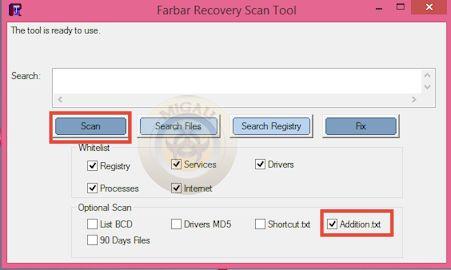 Malware détecté par Mbam 310